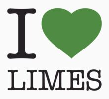 I ♥ LIMES One Piece - Short Sleeve