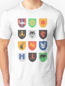 sigils of the seven kingdoms Unisex T-Shirt