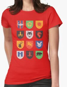 sigils of the seven kingdoms Womens Fitted T-Shirt