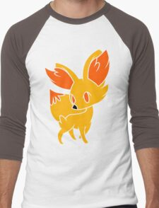 Fennekin 1 Men's Baseball ¾ T-Shirt