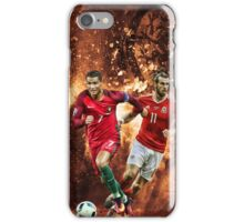 Gareth Bale vs Cristiano Ronaldo iPhone Case/Skin