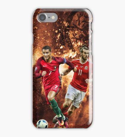Gareth Bale vs Cristiano Ronaldo iPhone Case/Skin