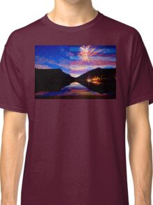 Rocky Mountain American Fireworks Show Classic T-Shirt