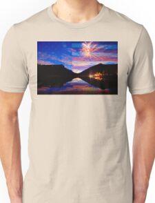 Rocky Mountain American Fireworks Show Unisex T-Shirt