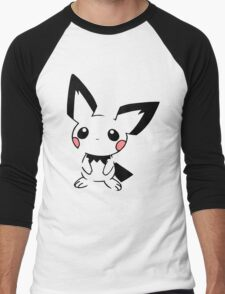 Pichu Men's Baseball ¾ T-Shirt