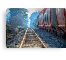 Side Tracked Canvas Print