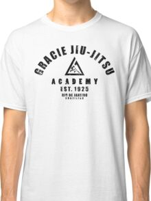 Gracie Jiu Jitsu martial arts black Classic T-Shirt