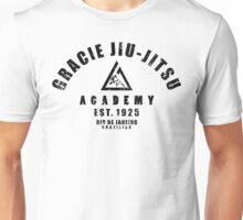 Gracie Jiu Jitsu martial arts black Unisex T-Shirt
