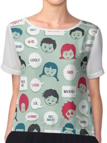 Kids Speak Chiffon Top