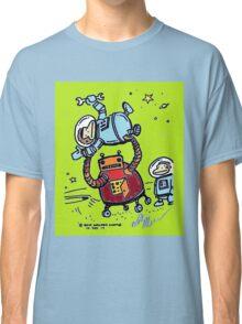 Robot Ape Goes Berserk Classic T-Shirt