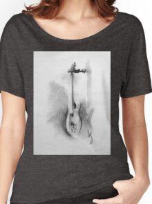 Charcoal bass Women's Relaxed Fit T-Shirt