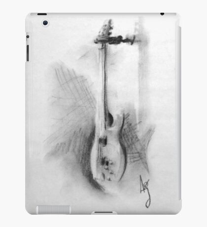 Charcoal bass iPad Case/Skin