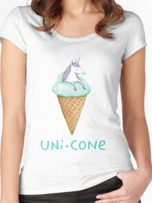 Unicone Women's Fitted Scoop T-Shirt
