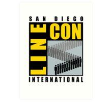 San Diego Line Con International Art Print