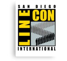 San Diego Line Con International Canvas Print
