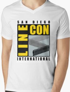 San Diego Line Con International Mens V-Neck T-Shirt