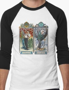 K-Science, Mucha Style! Men's Baseball ¾ T-Shirt