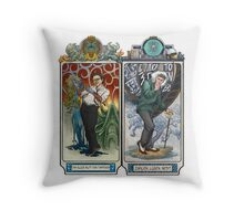K-Science, Mucha Style! Throw Pillow