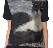 Meteora Cat Chiffon Top