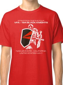 VFA-154 BLACK KNIGHTS SQUADRON T-SHIRTS Classic T-Shirt