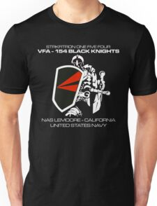 VFA-154 BLACK KNIGHTS SQUADRON T-SHIRTS Unisex T-Shirt