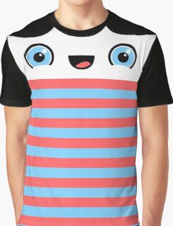 Stripey McGee Graphic T-Shirt
