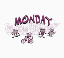 Days of the week - Monday Kids Tee