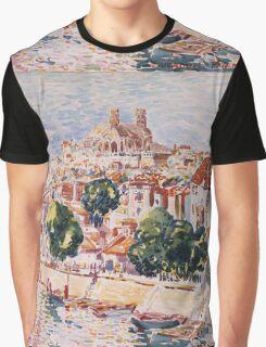 George Benjamin Luks - Verdun, France - French  - French   Landscape Graphic T-Shirt