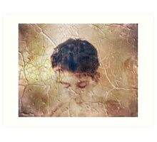 Inconsolable Happiness Art Print