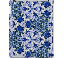 Blue and White Vintage Floral iPad Case/Skin