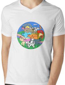 Vaquitas  Mens V-Neck T-Shirt
