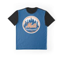 New York Mets - Royal Blue Graphic T-Shirt