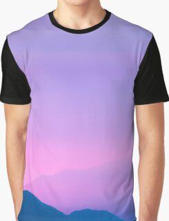 Sunset Layers Graphic T-Shirt
