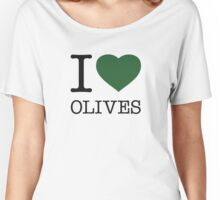I ♥ OLIVES Women's Relaxed Fit T-Shirt