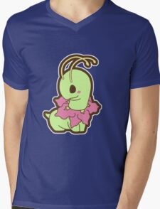 meganium Mens V-Neck T-Shirt