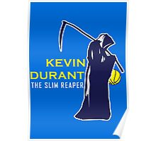 Kevin Durant the Slim Reaper Poster