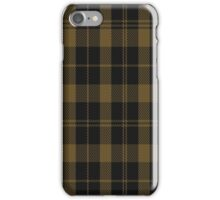 01516 Tyneside Scottish (Khaki) District Tartan iPhone Case/Skin