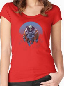 Spacetronaut - S34RCH1NG Women's Fitted Scoop T-Shirt