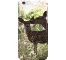 Momma and baby deer iPhone Case/Skin