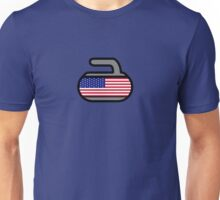 America Rocks! - Curling Rockers Unisex T-Shirt