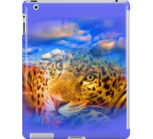Leopard In THE Sky iPad Case/Skin