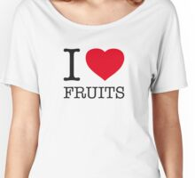 I ♥ FRUITS Women's Relaxed Fit T-Shirt