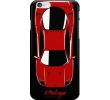Ferrari F40 (top view) iPhone Case/Skin