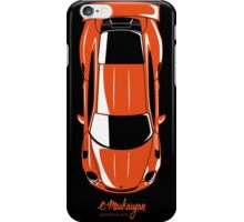 Porsche GT3 RS (top view) iPhone Case/Skin