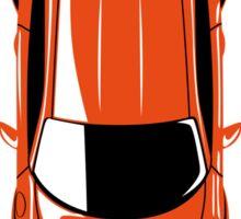 Porsche GT3 RS (top view) Sticker