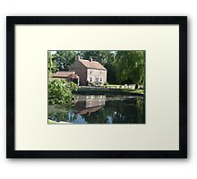 Pond at Peace Framed Print