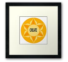 Create Framed Print