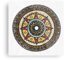 Moonrise Mandala Metal Print