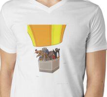 Balloon Birds (flight of the flightless) Mens V-Neck T-Shirt