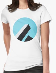 Abstract Architecture Womens Fitted T-Shirt